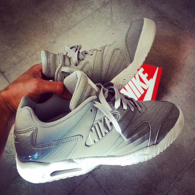 73f97cca085087 Andre Agassi Shows Off the Nike Air Tech Challenge 4 Low in Grey ...