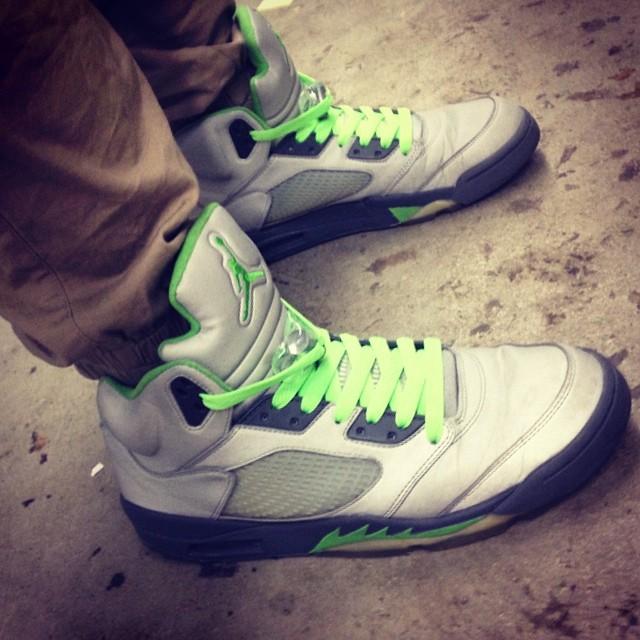 Air Jordan Of The Week: Green Bean 5