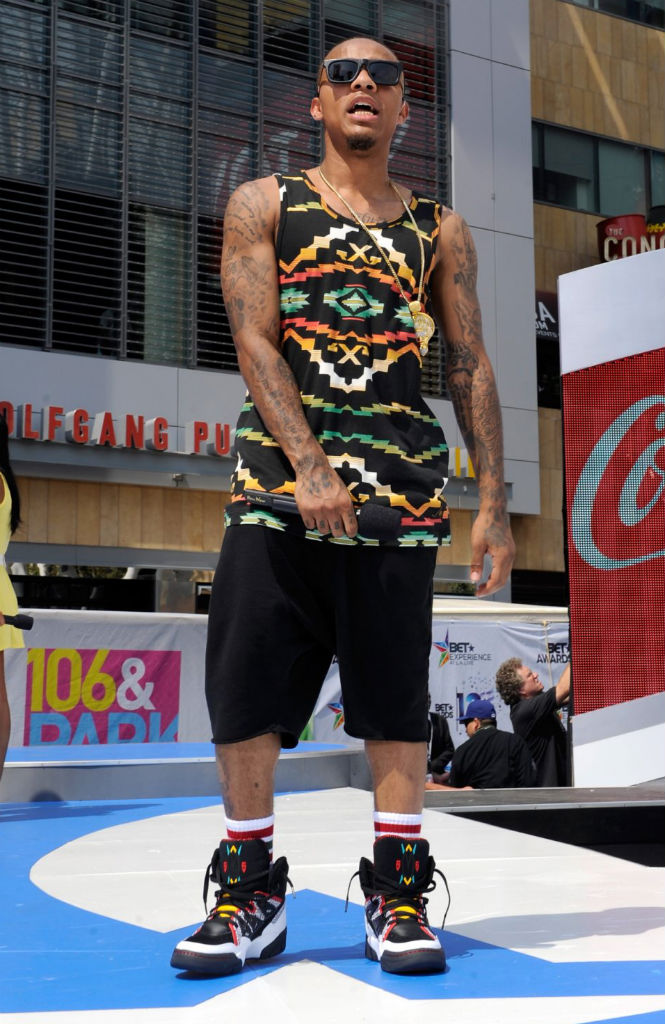 Bow Wow wearing adidas Mutombo (1) d860946c1