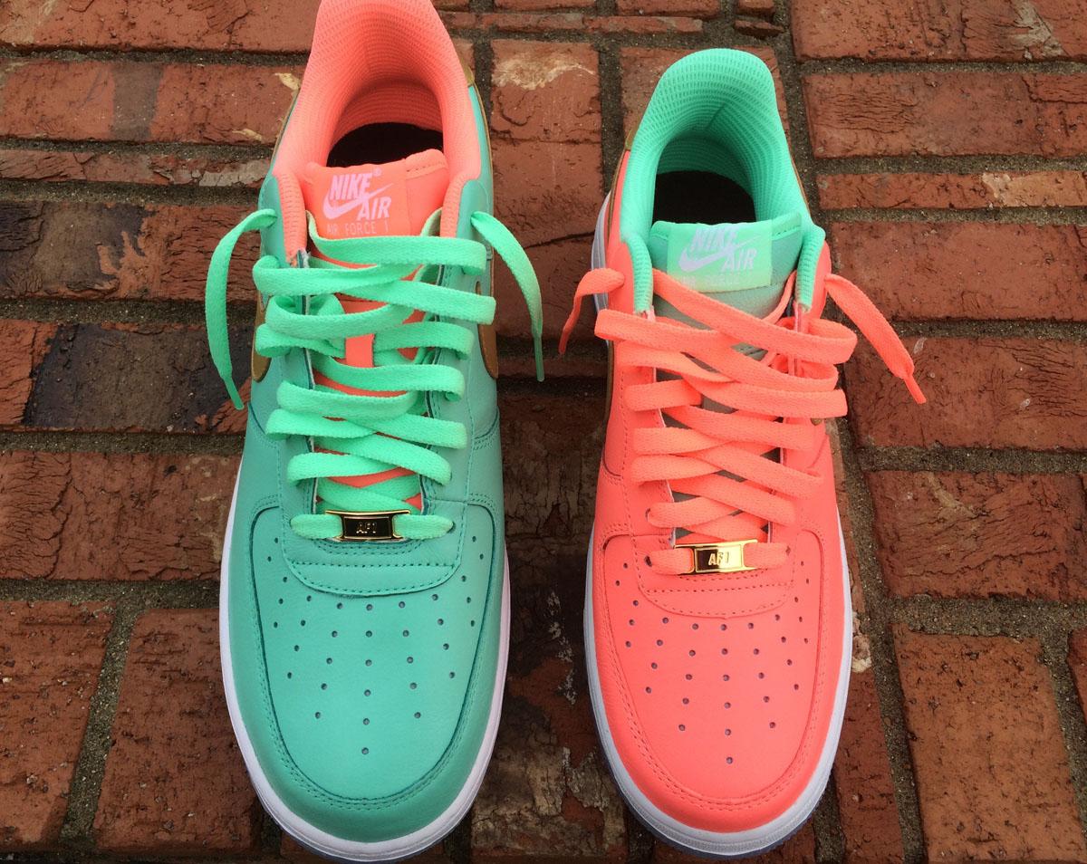 5d3f47444f86 Wedding Married Nike Air Force 1 Sneakers (6)