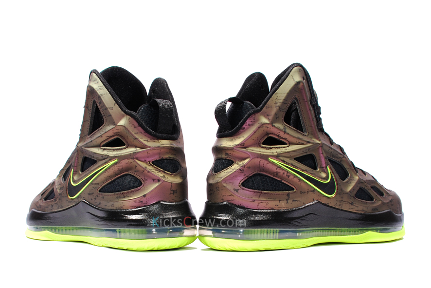 Nike Air Zoom Hyperposite 2 Dark Copper Black Volt (653466-607)