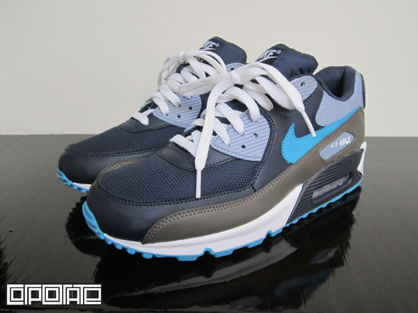 Nike Air Max 90 ObsidianTurquoise Grey White Now