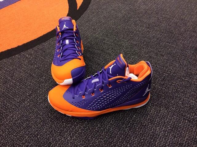 the latest ee132 db0a8 Kendall Marshall s Jordan CP3.VII Phoenix Suns Road PE
