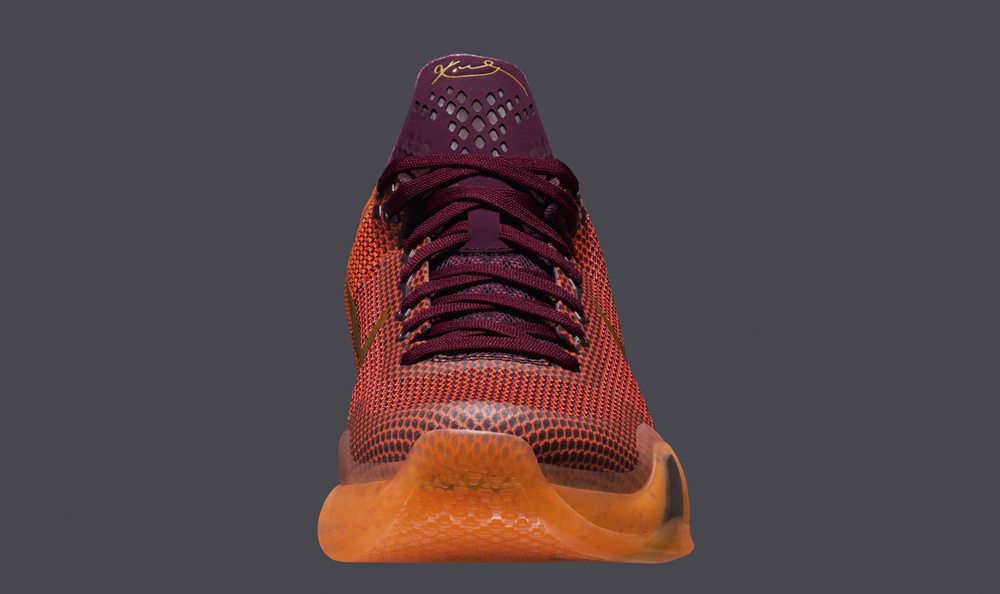 Best Cheap Nike Kobe 10 Merlot Villain Red-Total Orange-Metallic
