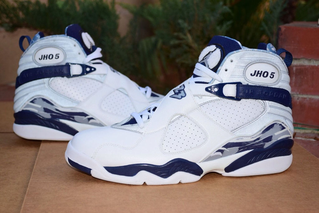 9c596079f4c31d Josh Howard s Air Jordan 8 PE Would Make a Great Release