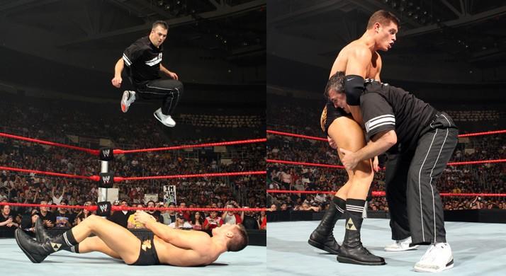 Shane McMahon Wearing The Cement Air Jordan Retro 3