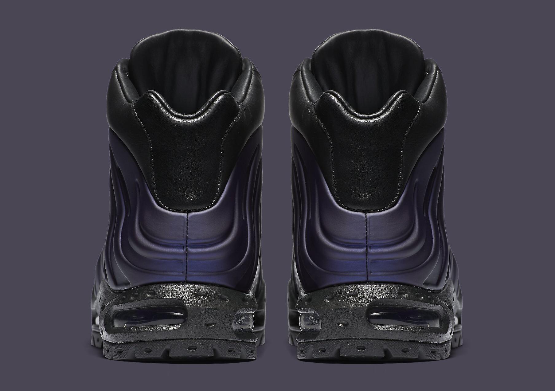 Nike Air Max Foamdome Eggplant 843749-500 Heel