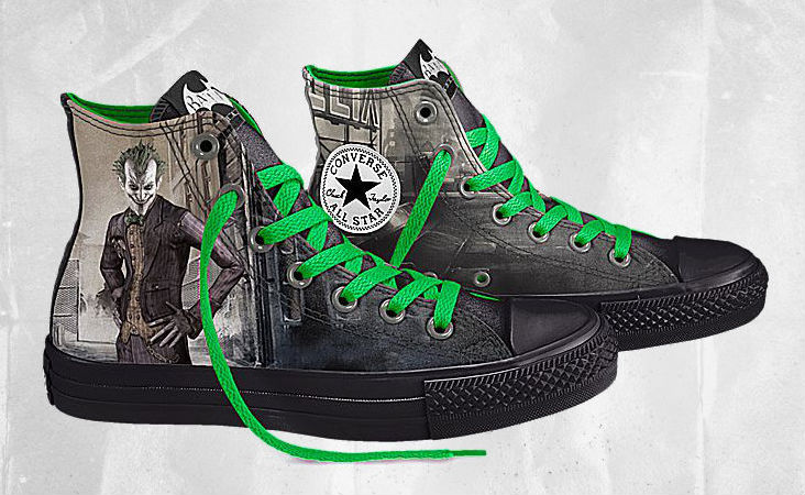 DC Comics x Converse Chuck Taylor All Star Batman Arkham City (2)