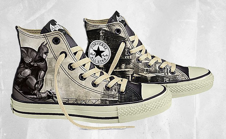 76da5c1f3a79 Design Your Own DC Comics x Converse Batman Arkham City Chucks ...