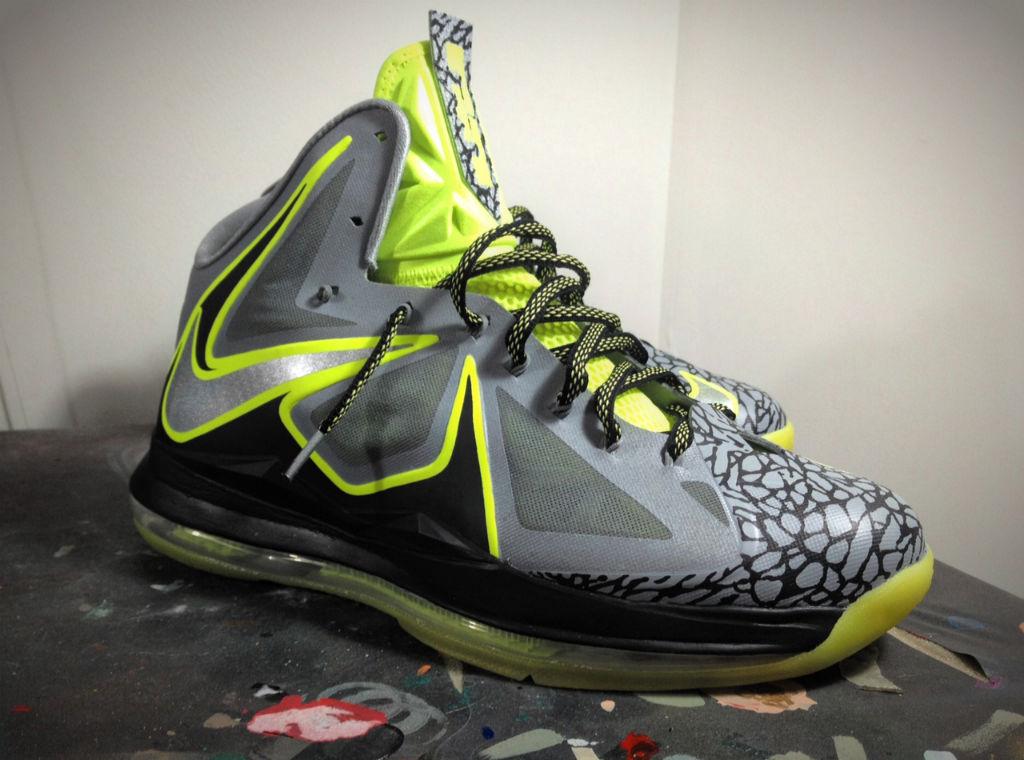 1aeb18d5bcc3 Nike LeBron X  112  By Mache Custom Kicks