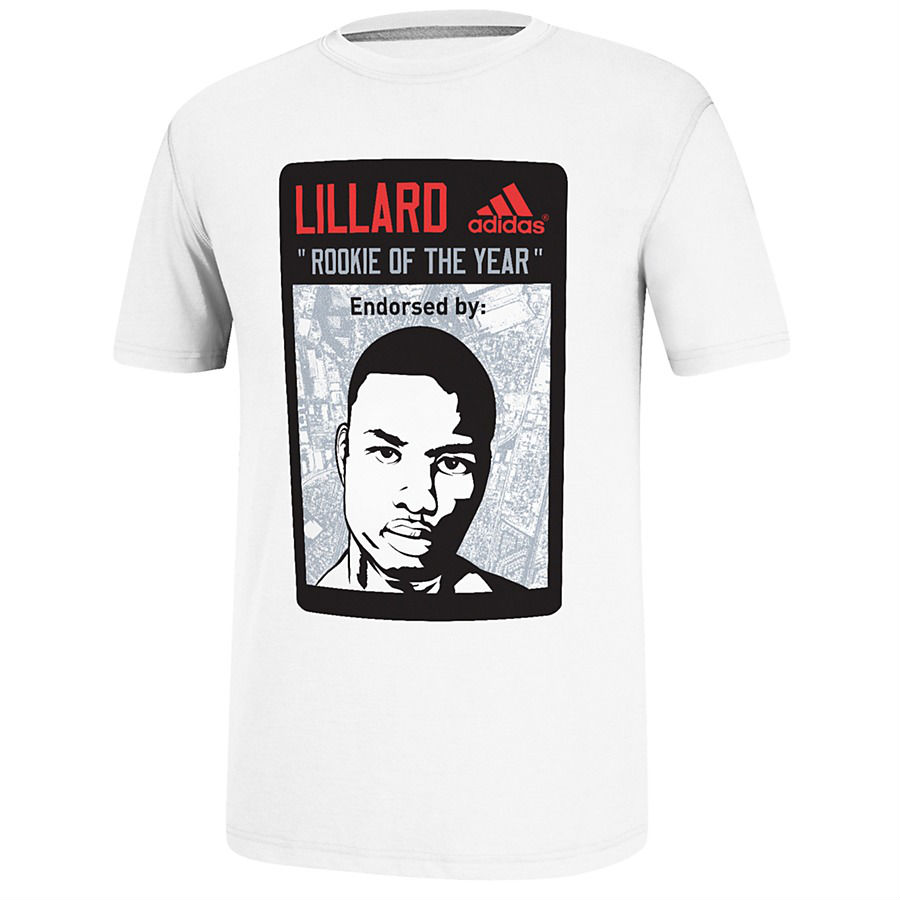 adidas Damian Lillard Rookie of the Year T-Shirt