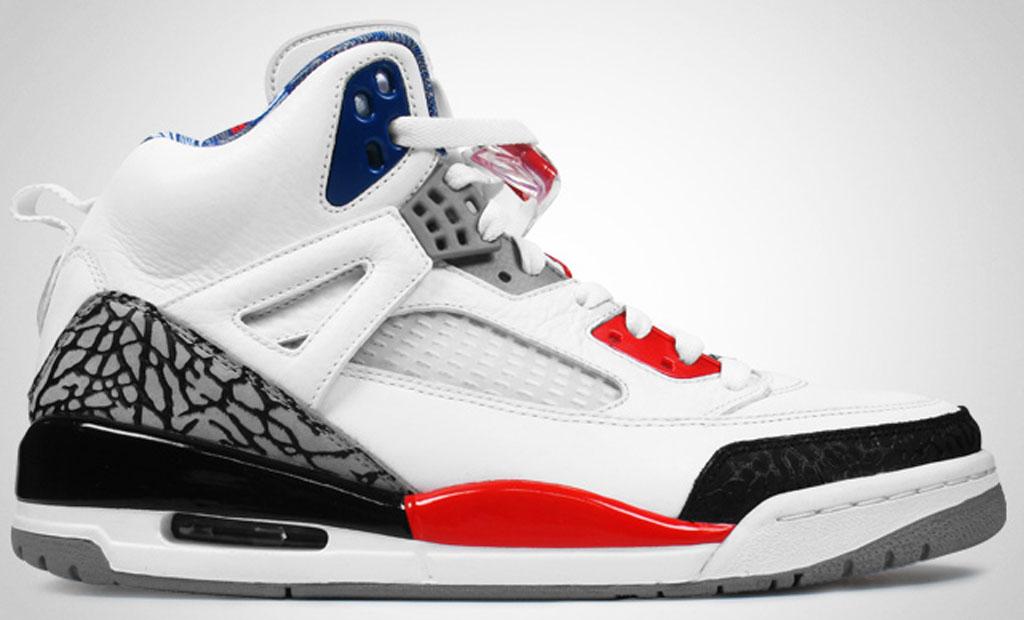 Mens Air Jordan 2010 24 White Black Red Grey shoes