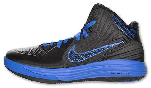 brand new 51f02 cce4f Nike Lunar Hypergamer Black Treasure Blue 469756-002