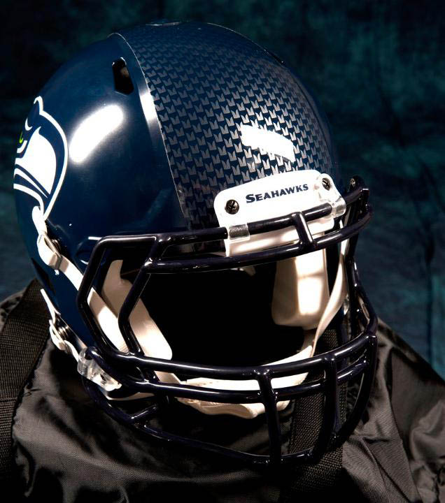 Football Helmet Vinyl Wraps : Nike unveils new seattle seahawks football uniforms sole