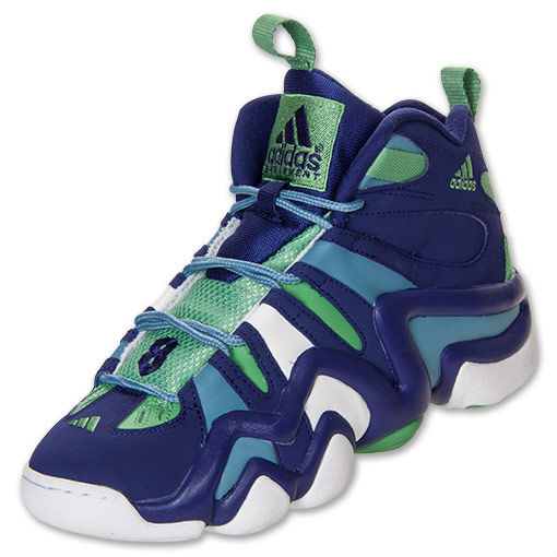 adidas Crazy 8  Purple Green Blue (2)