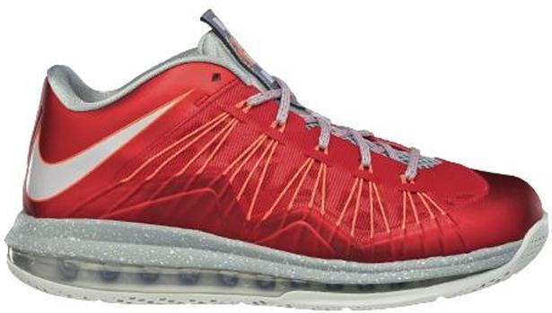 Nike LeBron X Low University Red