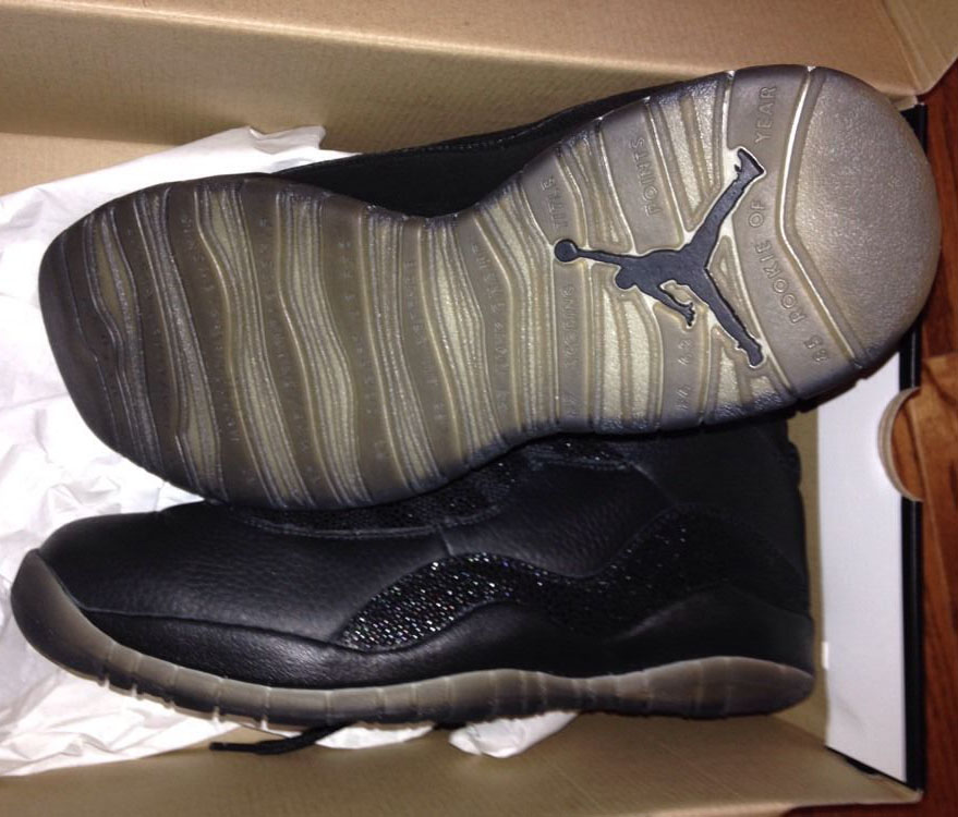 Air Jordan 10 OVO Black (3)