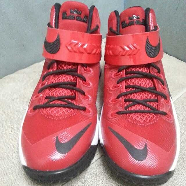 Nike LeBron Zoom Soldier 8 Red/Black-White (2)
