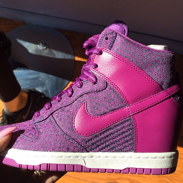 Erica Mena Picks Up Nike Dunk High TXT