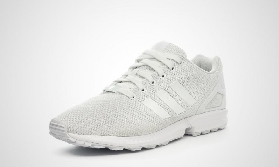 the best attitude d6015 15e8a white zx flux adidas
