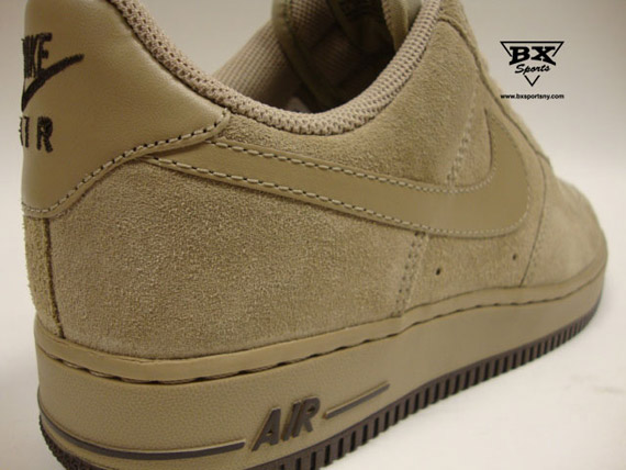nike air force 1 low beige suede sole collector. Black Bedroom Furniture Sets. Home Design Ideas