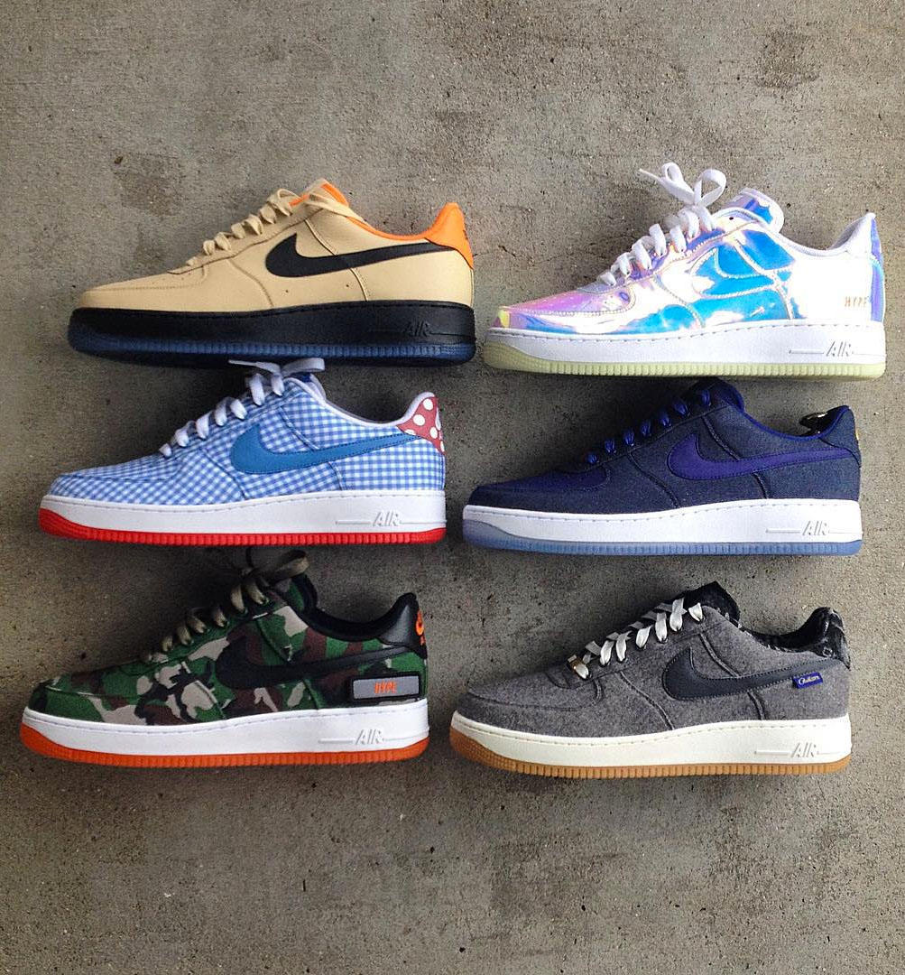 best nike id air force 1