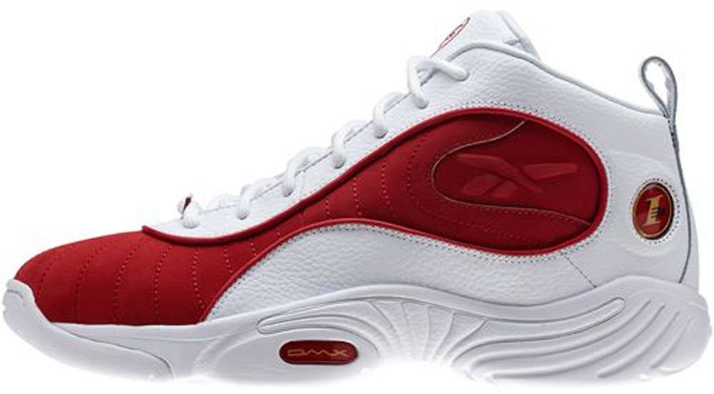 Reebok Answer 3 White/Red-Gold