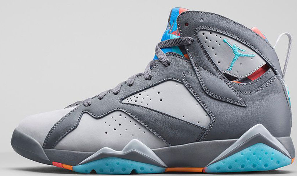jordan 7 blue and grey