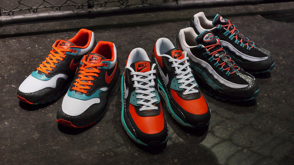 size 40 6e820 8a8fb This set of Nike Air Max releases is apparently inspired by the Japanese  rhinoceros beetle.