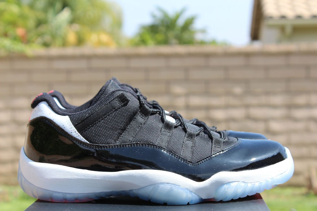 55c4c2a61ffe ... closeout air jordan xi 11 low infrared 23 528895 023 5 6fde1 53696