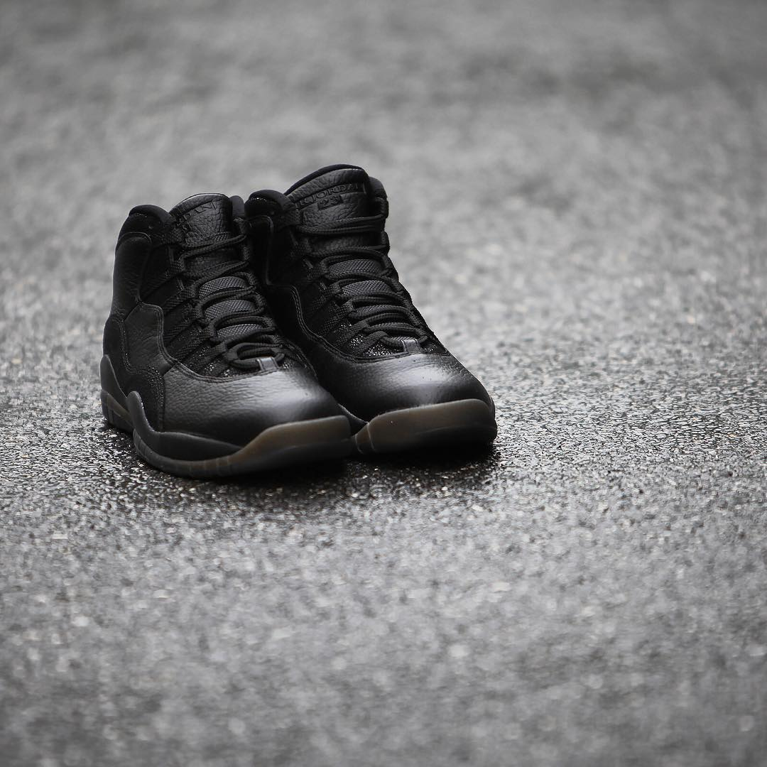 Air Jordan 10 OVO Black Release Date 819955-030 (3)