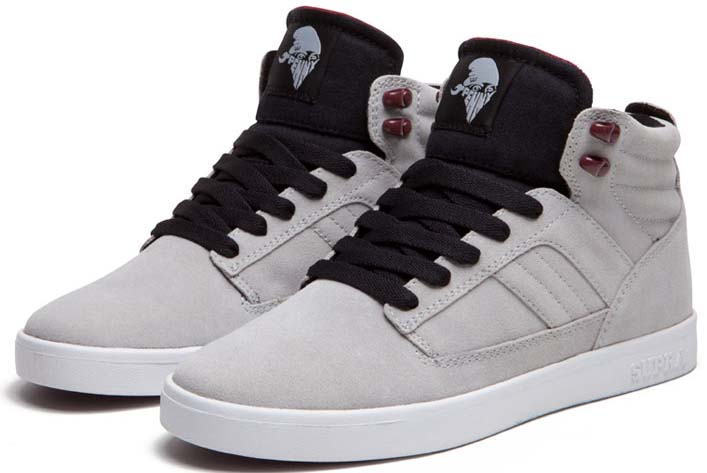 Supra Bandit Light Grey Tom Penny Shoes (2)