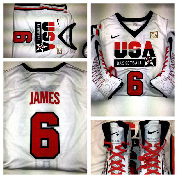 Team USA Wearing Throwback 1992 Dream Team Uniforms Today  89836ff11187