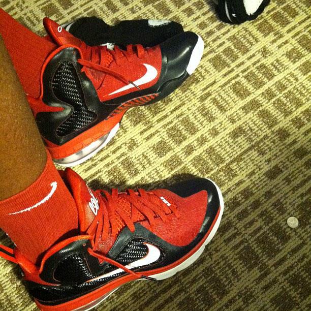 finest selection 50127 78e0b Nike LeBron 9 King James Shooting Stars PE (1)