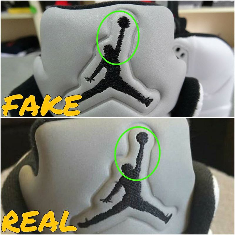 detailing bb3a9 05ea6 How To Tell If Your 'White' Supreme Air Jordan 5s Are Real ...