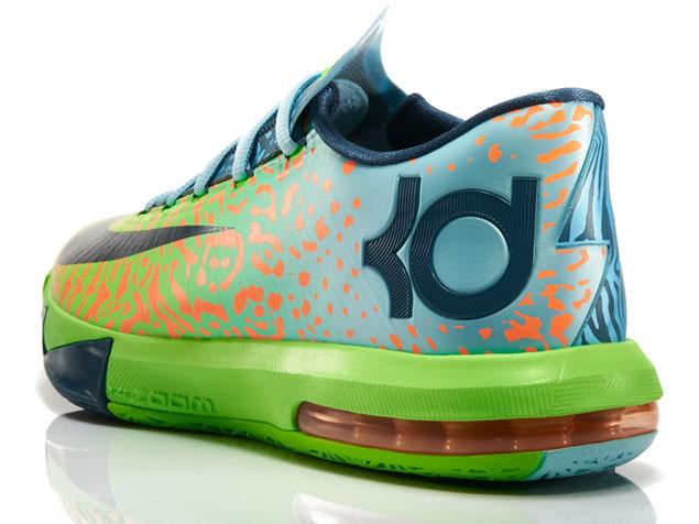 kd 6 Green