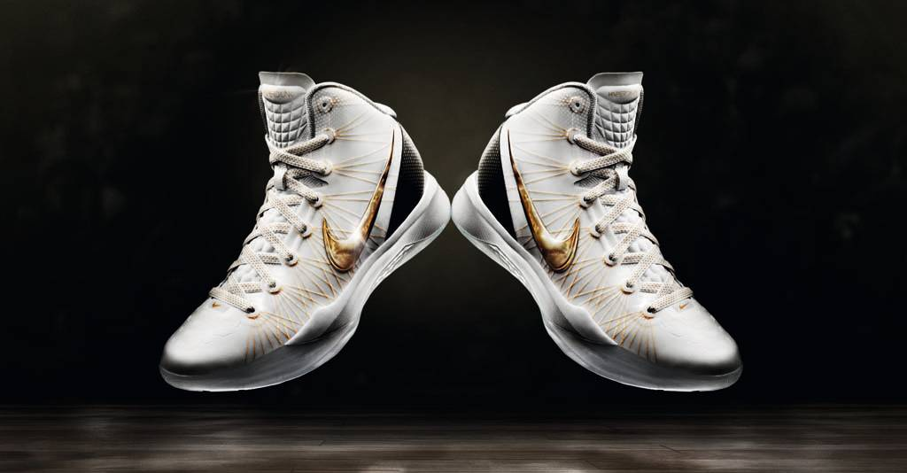 Nike Zoom Hyperdunk 2011 Elite Home White Black Metallic Gold 511369-100 (1)