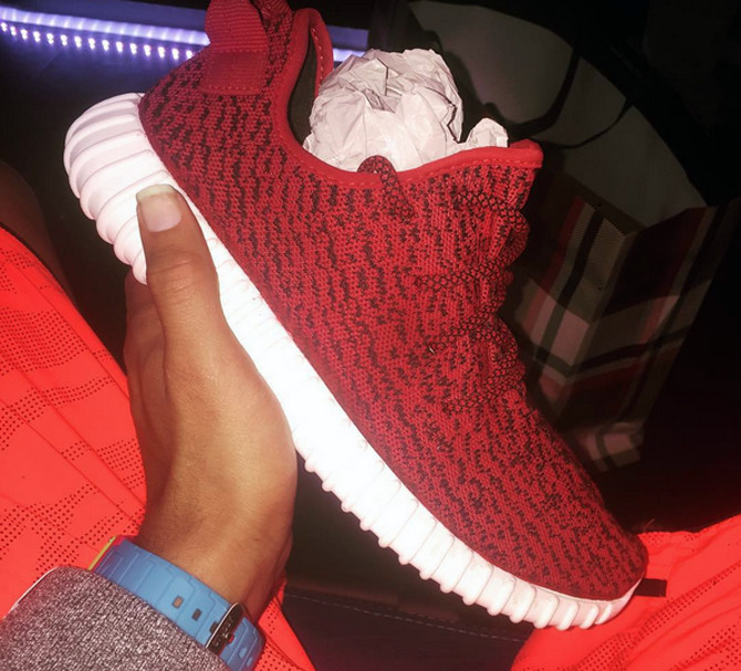 Yeezy Boost 350 Red