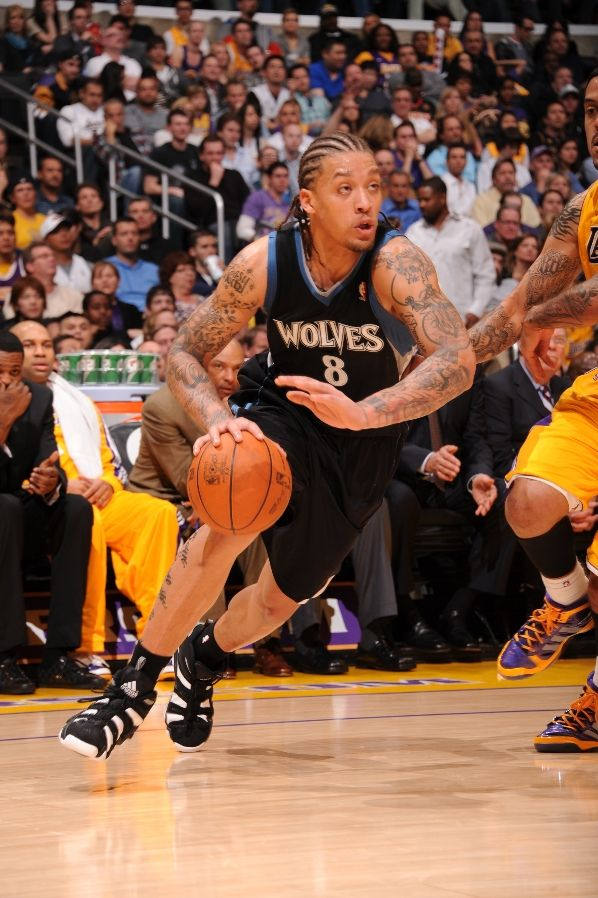 Michael Beasley & Wesley Johnson Wear adidas Crazy 8 vs. Lakers