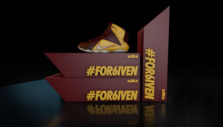 pretty nice 1fdf6 c54ea ... Nike LeBron 12 Homecoming King Concept by Chris Darmon (2) ...