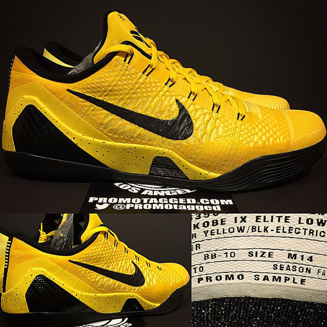 ... Nike Kobe 9 Elite Low Too. More on Kobe's ninth before it fades to  black.