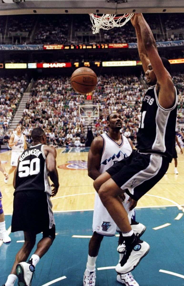 9b3ef65599218 A Look Back at The Most Notable Sneakers Worn By Tim Duncan