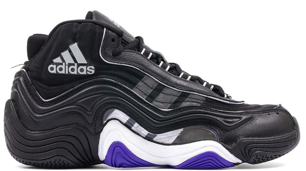 adidas Crazy 2 Black/Black-Flat White-Power Purple