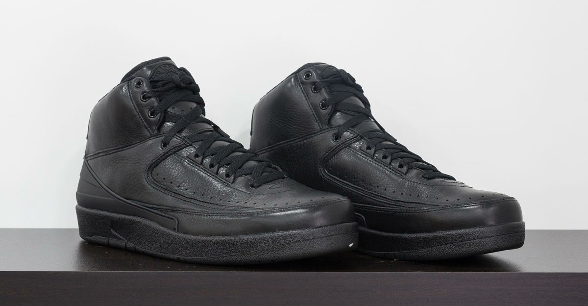 4c58cc1b6477 Air Jordan 2 Kobe Black Collection