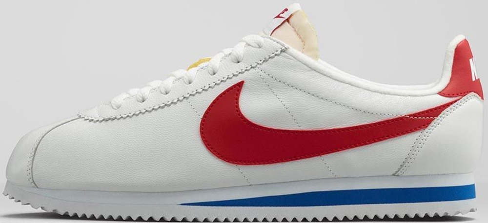 Nike Classic Cortez White/Varsity Red-Varsity Royal