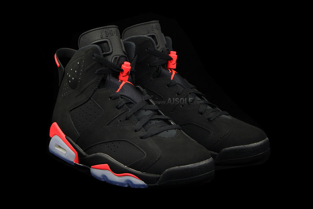 Air Jordan VI 6 Black Infrared Release Date 384664-023 (2)