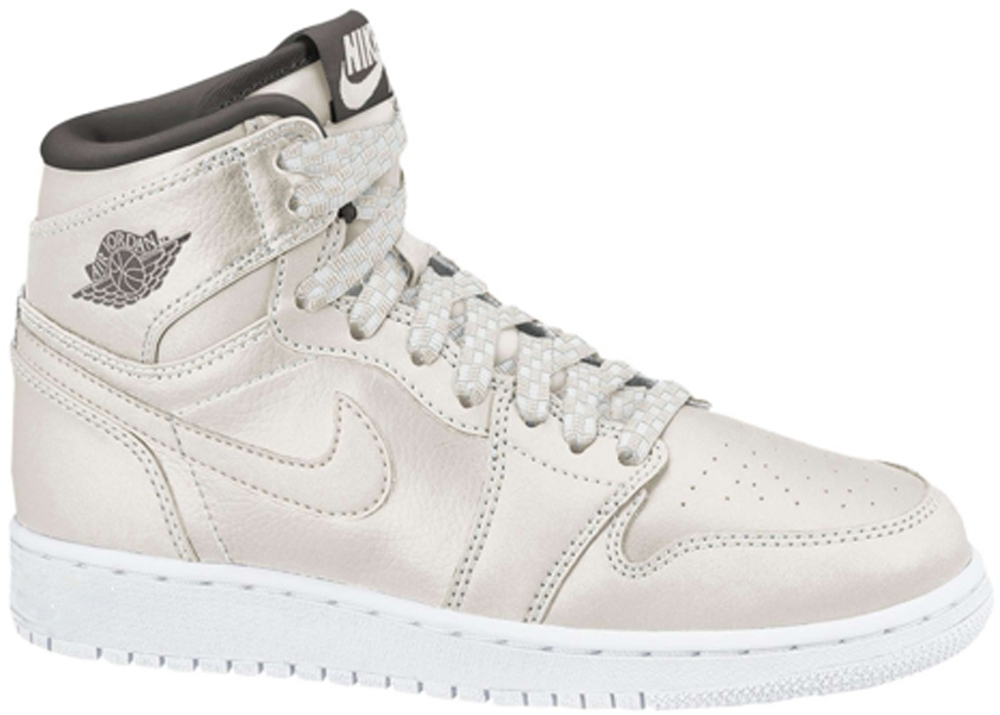 Girls Air Jordan 1 Retro High Premium RL Phantom