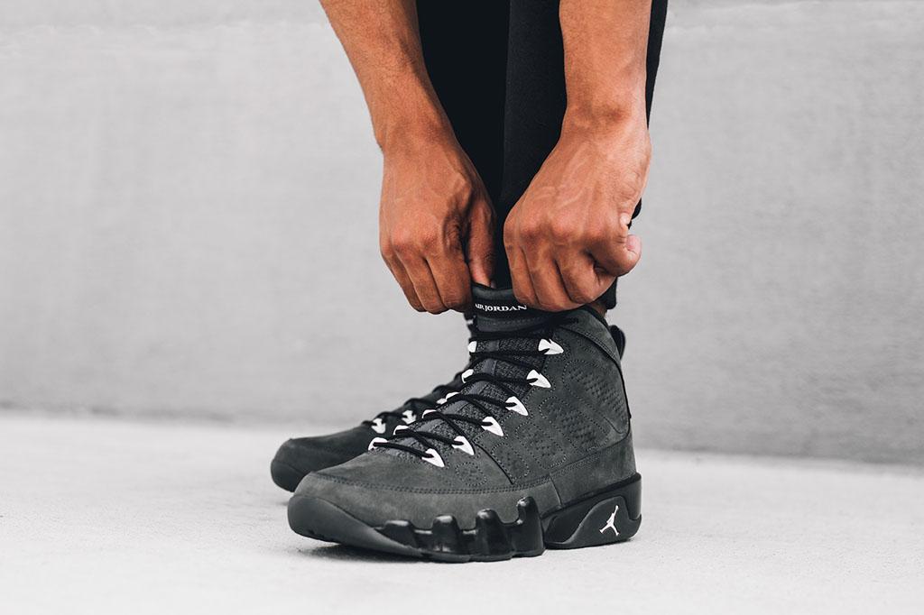 37169f618a9c Release Date  Air Jordan 9  Anthracite