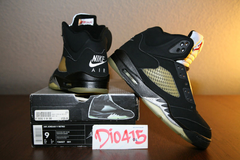 Spotlight // Pickups of the Week 6.2.13 - Air Jordan 5 Retro Metallic by dionicio