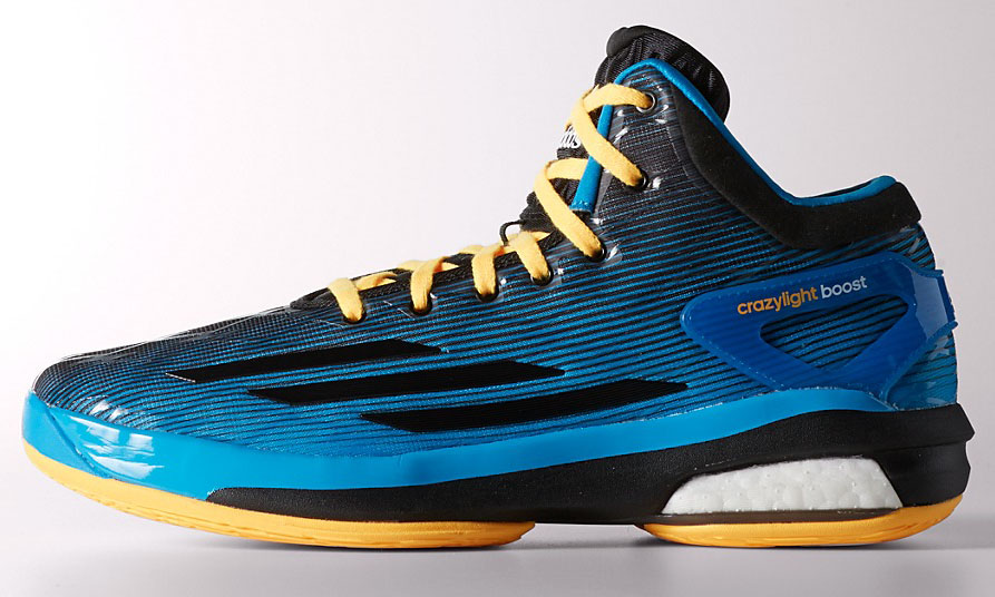 adidas Crazylight Boost Blue/Black-Yellow
